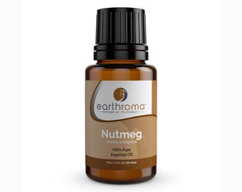 Nutmeg Essential Oil | 5 mL | 15 mL | 30 mL | 100% Pure Therapeutic Grade