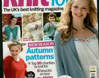 Knit Today Knitting Magazine Issue 63 September 2011