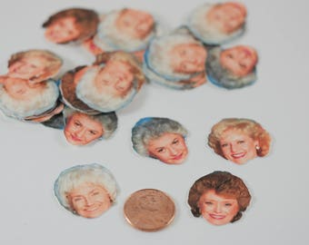The Golden Girls confetti, The Golden Girls party favor, Be Golden, Rose Nylund,Blanche Devereaux , Dorothy Zbornak, Sophia Petrillo