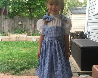 dorothy dress  size 5 child