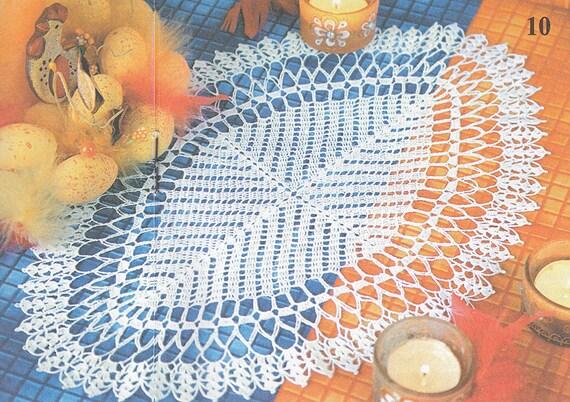 Muster von Valentina 152-10 ovale Spitze filet häkeln