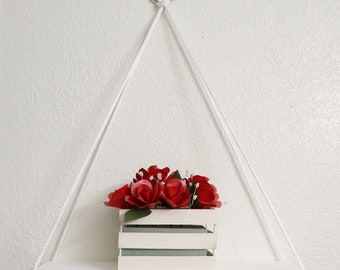 il bookshelf shelves inches hanging market floating shelf matte etsy white