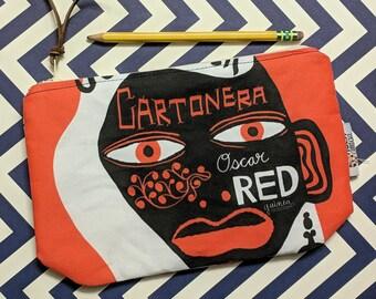 Cartonera Pencil / Makeup Case
