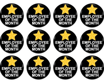 employee of the month sign