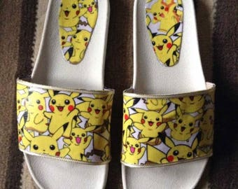 Customized sliders pikachu size 7