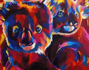 Koalas - Giclee print