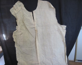 ON SALE: Strange item - 1923 cloth pattern with inscription and date