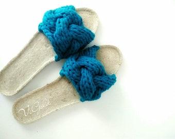 Crochet Shoes / Crochet Sandals / Crochet Espadrilles for Women / Summer Shoes / Designer Shoes / Summer Sandals / Boho Shoes