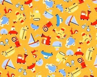 1 Yard David Walker Oh Boy Vehicles Color Orange