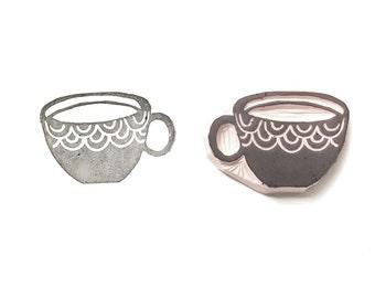 Sello de la taza de té | 015085