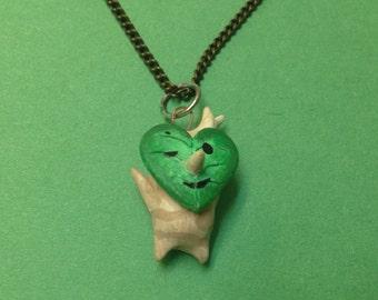Korok Necklace - Heart Shaped Leaf Face