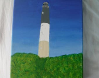 Hand Painted Canvas - Lighthouse