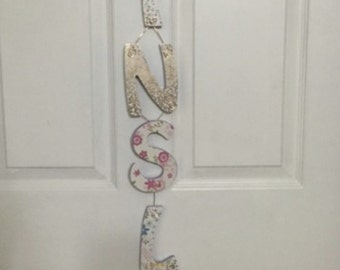 Letter Name Door & Wall Decoration