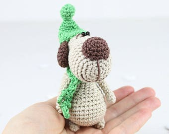 Little doggy Amigurumi Crochet Toy | Crochet Soft Toy | Animal Amigurumi | Crochet Toy