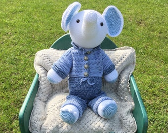 Elephant in jeans