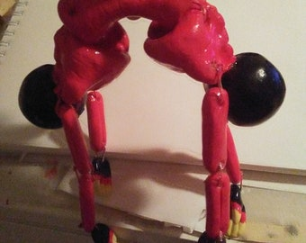 Conjoined twin error doll