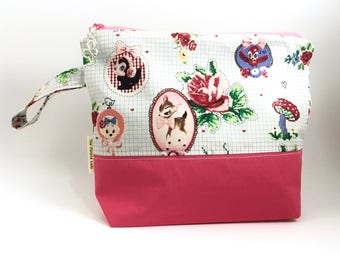 Cute Notebook Project Bag