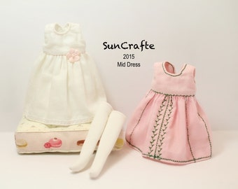 Handmade Middie (solid colors) Blythe Dress by SunCrafte Spring 2015