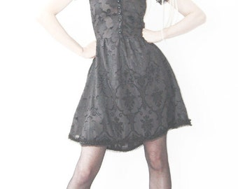 black Doll dress