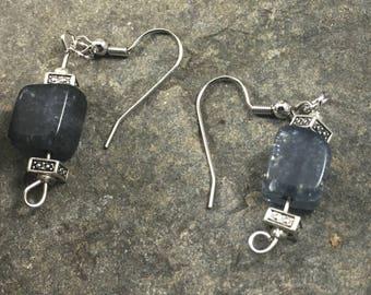 gray and silver dangles
