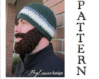 PATTERN--Ultimate Bearded Beanie