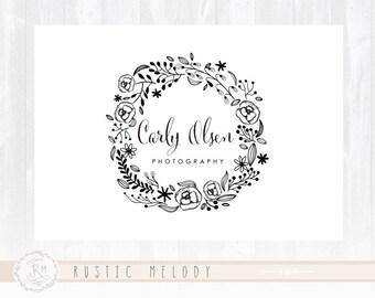 Events Logo Wedding Logo Photography Logo Design Floral Logo Boutique Logo Watercolor Logo Decor Logo Design Watermark