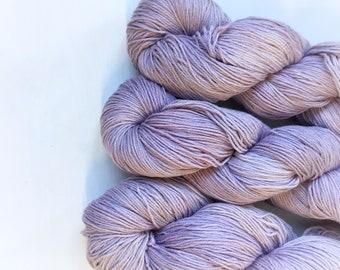 4ply Superwash Merino/Cotton - Lavendar
