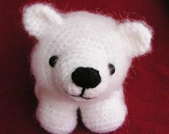 Pdf Crochet Pattern BABY POLAR BEAR (English only)
