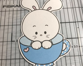 Tea or Coffee Bun Planner Die Cut