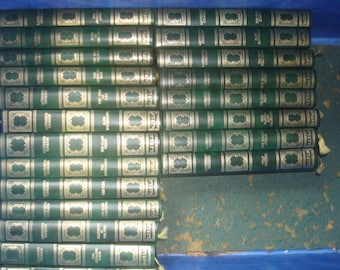Set of 21 Catherine Cookson Vinyl covered books by Heron Books.