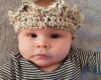 MADE TO ORDER Crochet Crown l prince l princess l crown l Baby crown l birthday l birthday hat l Baby birthday hat | sparkle crown | sparkle