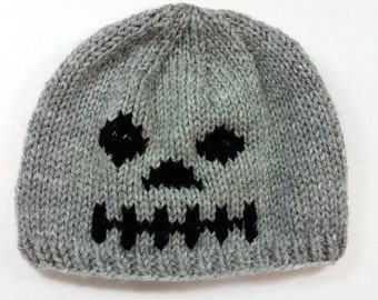 Skeleton Hat - Skeleton Beanie - Halloween Hat - Halloween Beanie - Halloween Costume - Baby Halloween Hat - Kids Halloween Hat - Photo Prop