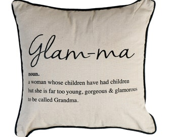 Glam-ma pillow Cover