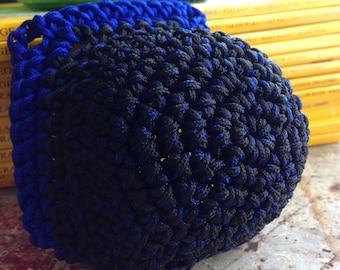 Blue & Black Toe Guards
