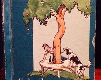 Under the Apple Tree by Odille Ousley, Vintage Children's Books, Vintage Kid's Books, Rare Books