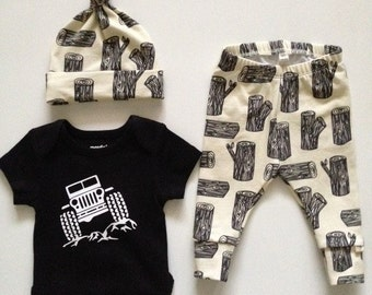 NEW! Greys Adventure!/Cream/Newborn Outfit/Bring Home Outfit