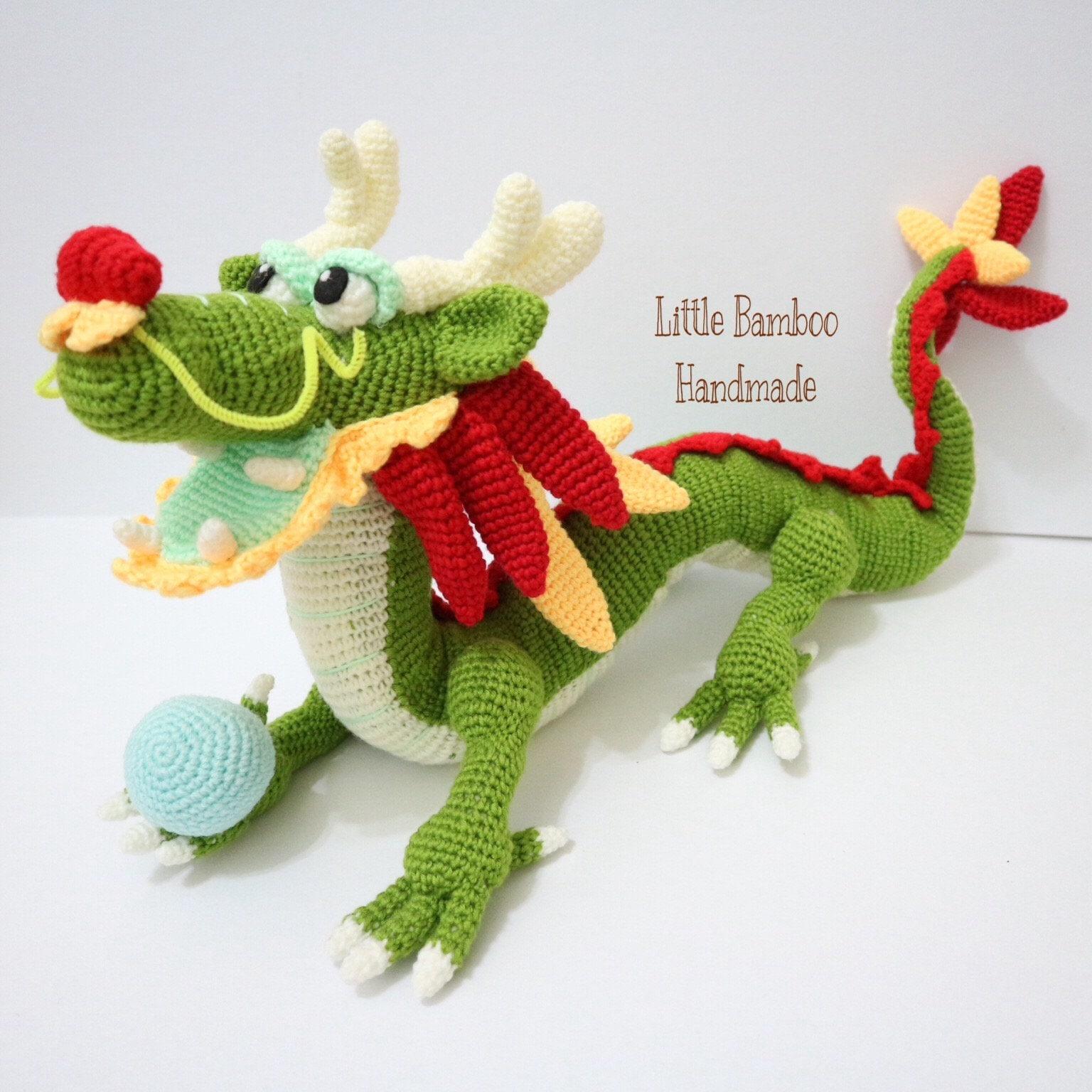 PATTERN- Chinese Dragon - Crochet pattern, pdf from ...
