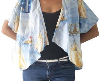 """top kimono jacket """"Saint-Malo"""""""