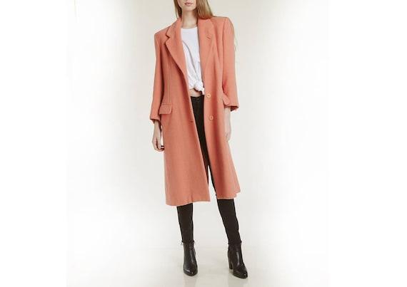 90s armani alpaca wool coat
