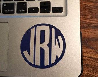 Laptop Decal: 3 inches, Personalized