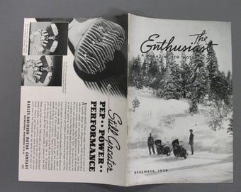 December  1939  Harley Davidson Enthusiast Magazine