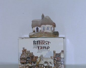 LILLIPUT LANE COTTAGE;chine cot miniature masterpiece