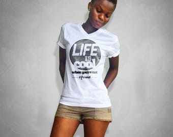 Life is cool - ladies T-shirt