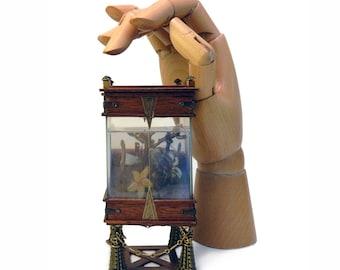 Miniature Victorian Standing Aquarium