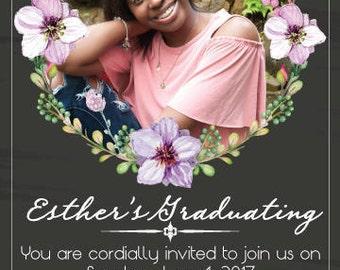 Faux Chalk Invitations
