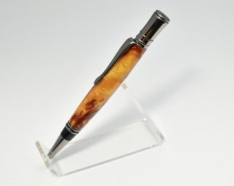 Executive Pen, Amber Waves, Gun Metal