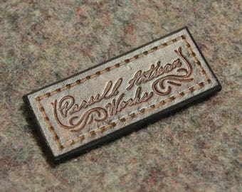 Parsell Artisan Works Leather Morale Patch