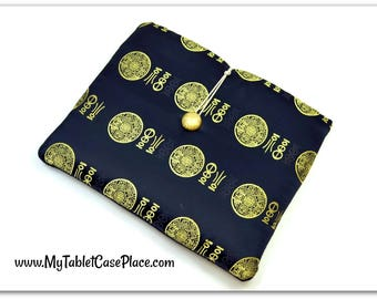 Hand Crafted Tablet Case from Chinese Silky Fabric/Case for:iPad,Kindle Fire HDX,Samsung Galaxy Tab, Google Nexus, iPad Air, Nook HD