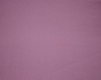 100% Cotton Sateen in Mauve
