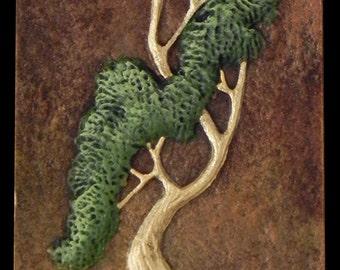 Sway - Cast Paper - Asian Tree - Bonsai - Pine Tree - Nature - little tree